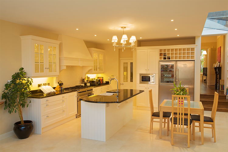 Projects national lighting for Kitchen design dublin