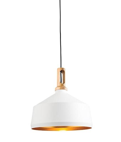 SG61352-Matt-white-paint-&-light-wood-WHITE-COPPER-INSIDE-PENDANT-