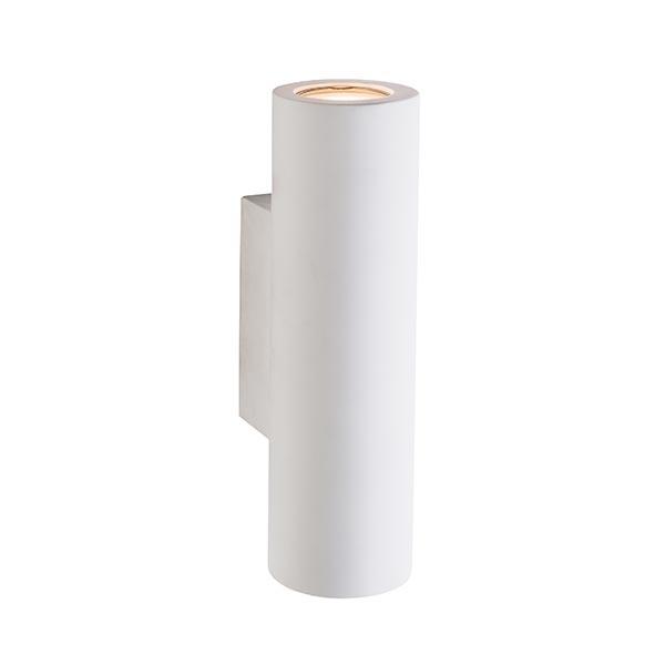 SG61640-WHITE-PLASTER-WALL-LIGHTS-DUBLIN