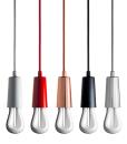 Plumen Drop Cap Chrome cord lighting pendant lighting with plumen bulb designer bulbs dublin ireland buy lighting online 1.3