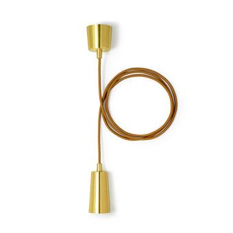 Plumen Drop Cap Gold cord lighting pendant lighting with plumen bulb designer bulbs dublin ireland buy lighting online 1.1