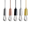 Plumen Drop Cap Gold cord lighting pendant lighting with plumen bulb designer bulbs dublin ireland buy lighting online 1.2