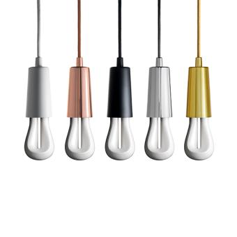 Plumen Drop Cap Gold cord lighting pendant lighting with plumen bulb designer bulbs dublin ireland buy lighting online 1.2