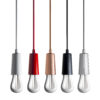 Plumen Drop Cap White Drop Cap pendants cord lighting