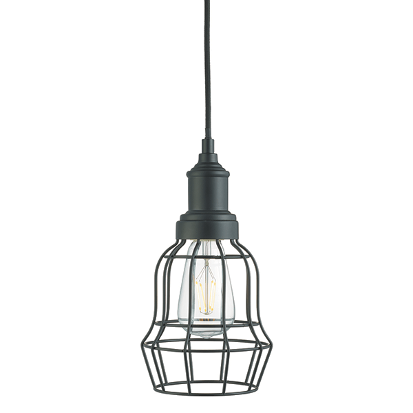 st6847bk-matt-black-bell-cage-pendant-light