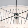 HL06087270120 GRASS PENDANT WHITE LIGHT FITTING MODERN WITH CUT OUT DETAIL HERSTAL DUBLIN BUY LIGHTING IRELAND 1.1