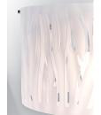 HL06087270120 GRASS PENDANT WHITE LIGHT FITTING MODERN WITH CUT OUT DETAIL HERSTAL DUBLIN BUY LIGHTING IRELAND 1.2