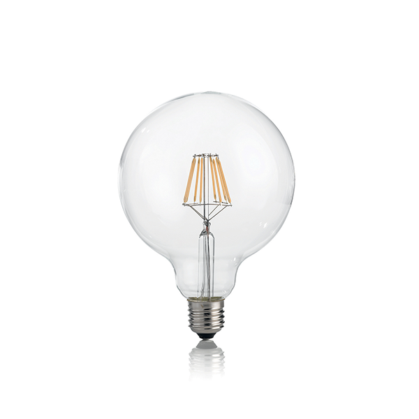 lampadina globo led : ID101347 E27 GLOBO FILAMENT BULB NON-DIMMABLE - National Lighting