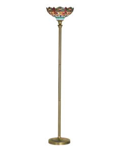Spwoo77pfo0000w 000 woody floor lamp white lamps included for Floor lamp dublin