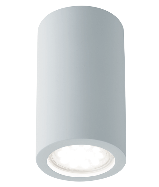 Bathroom Lights Ireland st9273 gypsum cylinder wall gu10 wall light - national lighting