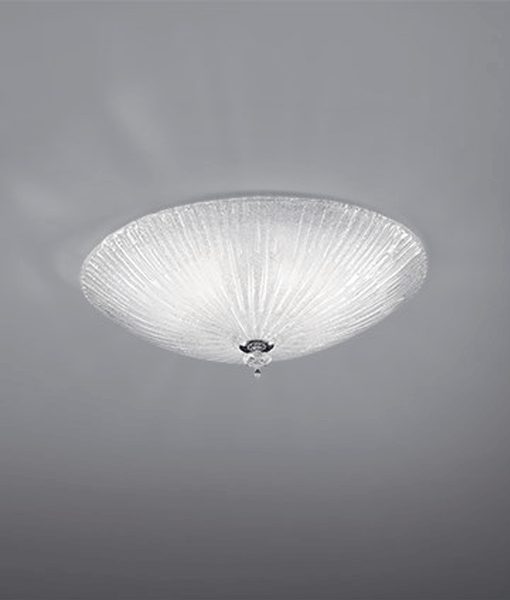 id008608-shell-pls-ceiling-light-gatherered-glass-jpg