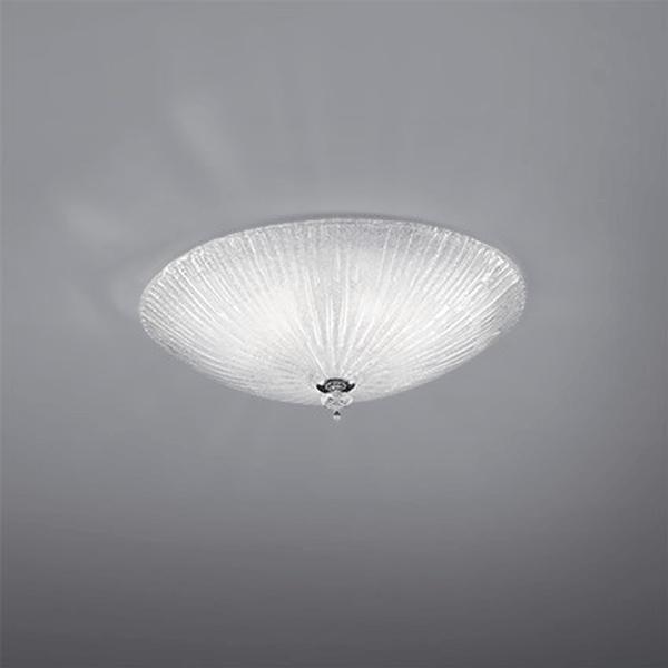 id008608-shell-pls-ceiling-light-gatherered-glass-jpg