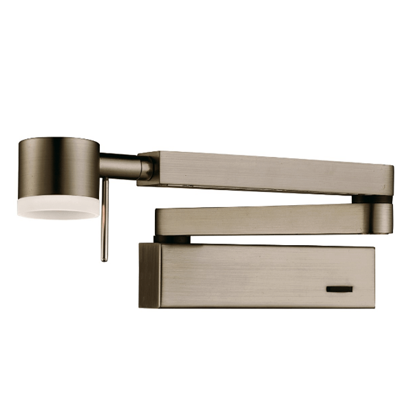 Wall Mounted Extendable Lamp : ST0773AB LED EXTENDABLE WALL BRACKET (Lamp included) - National Lighting