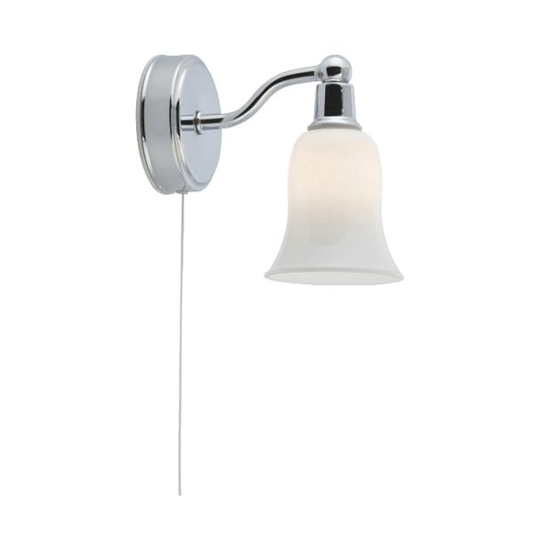 St2931 1cc led ip44 1lt white shade wall light national lighting st2931 1cc ip44 1lt white shade wall light aloadofball Images