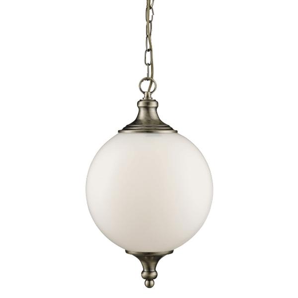 st3051ab-1lt-pendant-antique-brass-opal-glass-ball-shade-buy-lighting-ireland