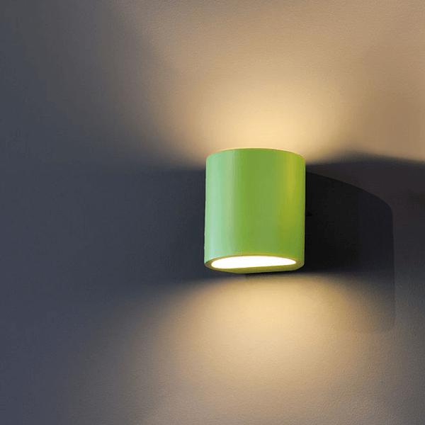 Nl 148016 Plastra Wall Light Gl 104 Round