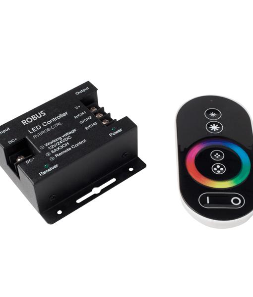 RVBRGB-CTRL-RGB-VIBE-432W-CONTROLLER-IP20-RGB-LIGHT-CONTROLLER-DUBLIN-ROBUS
