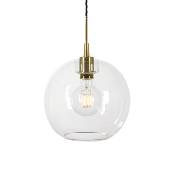 Belt10721018 Clear Glass Gloria Pendant National Lighting