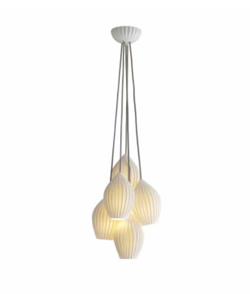 BTCFP550N-5-Fin-grouping-of-5-NATIONAL-LIGHTING-DUBLIN-IRELAND-PENDANTS