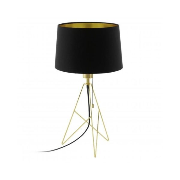 EG39179-CAMPORALE-BLACK AND GOLD TABLE LAMP NATIONAL LIGHTING DUBLIN IRELAND