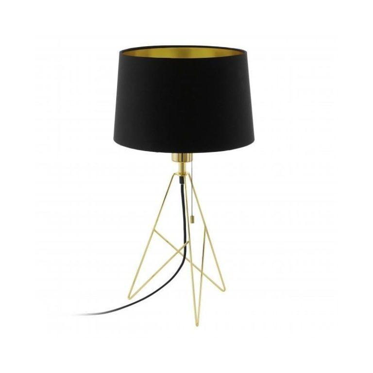 EG39179-CAMPORALE-BLACK AND GOLD TABLE LAMP NATIONAL LIGHTING DUBLIN IRELAND