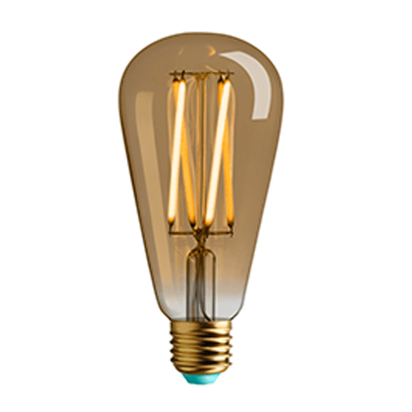 PLU1203262084 PLUMEN WILLIS E27 4.5W 315LM DIMMABLE GOLD NATIONAL LIGHTING DUBLIN IRELAND