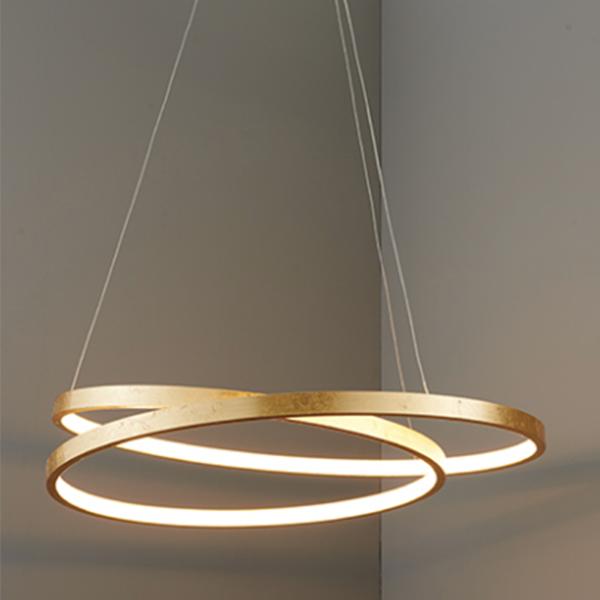 SG72479 SCRIBBLE RING PENDANT 33W WARM WHITE (LAMP
