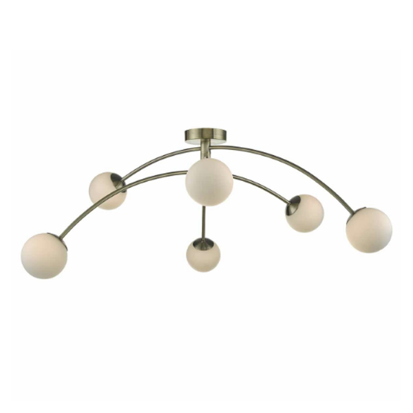 PUG6475-Puglia-6lt-Semi-Flush-Antique-Brass-AND-Opal-Glass-NATIONAL-LIGHTING-DUBLIN-IRELAND