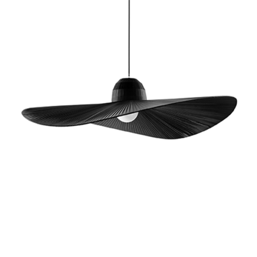 ID176680 MADAME PENDANT BLACK HAT SHAPED PENDANT FRENCH LIGHTING NATIONAL LIGHTING DUBLIN IRELAND