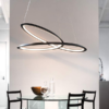 KEPLER BLACK SPIRAL SWIRL PENDANT DECORATIVE LIGHTING PENDANT LIGHTING IRELAND NATIONAL LIGHTING DUBLIN 2