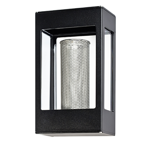RP162001006 TETRA OUTDOOR WALL LIGHT DARK GREY ROGER PRADIER NATIONAL LIGHTING DUBLIN IRELAND OUTDOOR LIGHTING COLOURED