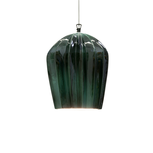 SE667KV SAHARA 14CM GLOSSY GREEN PENDANT KARMAN NATIONAL LIGHTING DUBLIN IRELAND 1