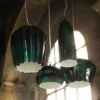 SE667KV SAHARA 14CM GLOSSY GREEN PENDANT KARMAN NATIONAL LIGHTING DUBLIN IRELAND INSITU
