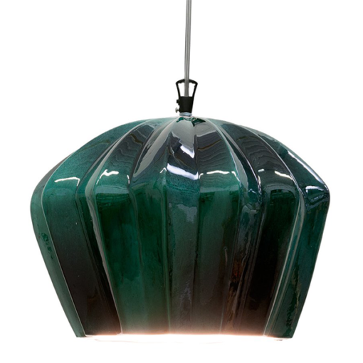 SE667KV SAHARA 14CM GLOSSY GREEN PENDANT KARMAN NATIONAL LIGHTING DUBLIN IRELAND3