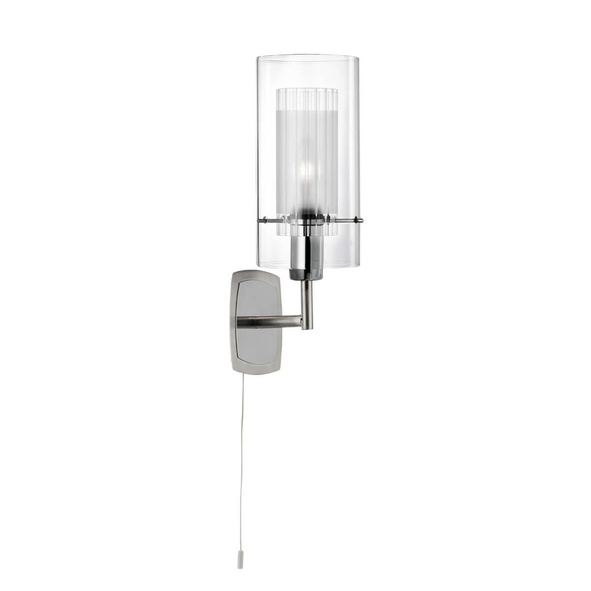 St2300 1 Double Glass Wall Light National Lighting