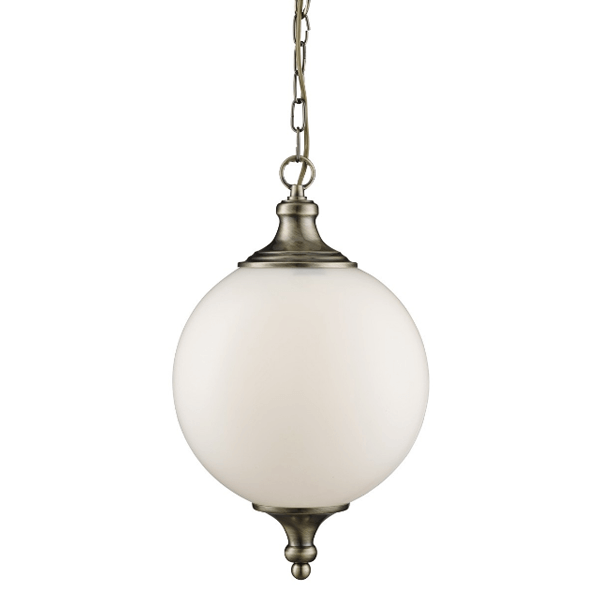st3051ab-1lt-pendant-antique-brass-opal-glass-ball-shade-buy-lighting-ireland