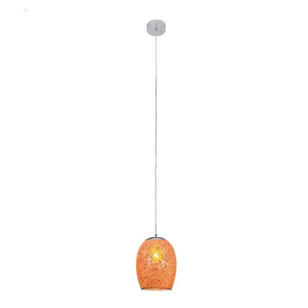 st8069or-1lt-orange-crackle-glass-pendant