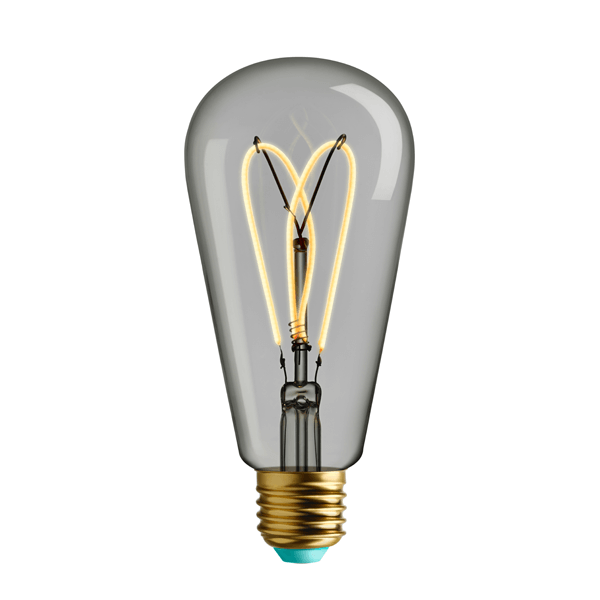 PLU1203262079 PLUMEN WHIRLY WILLIS CLEAR E27 4W 180LM NATIONAL LIGHTING DUBLIN IRELAND