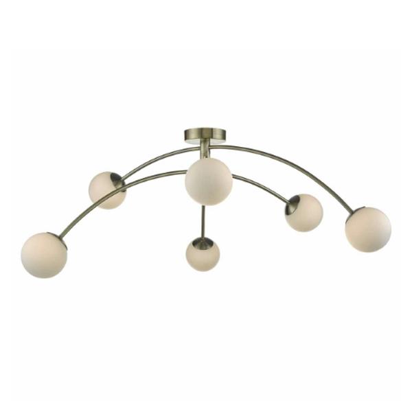 PUG6475-Puglia-6lt-Semi-Flush-Antique-Brass-AND-Opal-Glass-NATIONAL-LIGHTING-DUBLIN-IRELAND