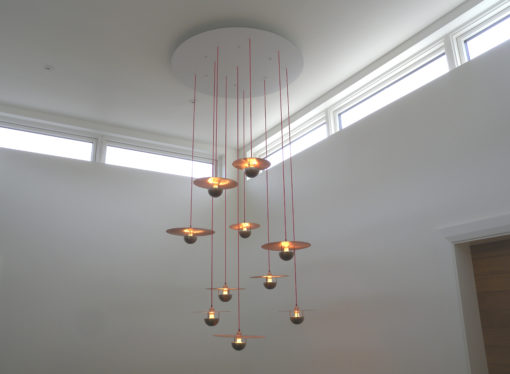 Shane Holland Cymbal Chandelier (7)